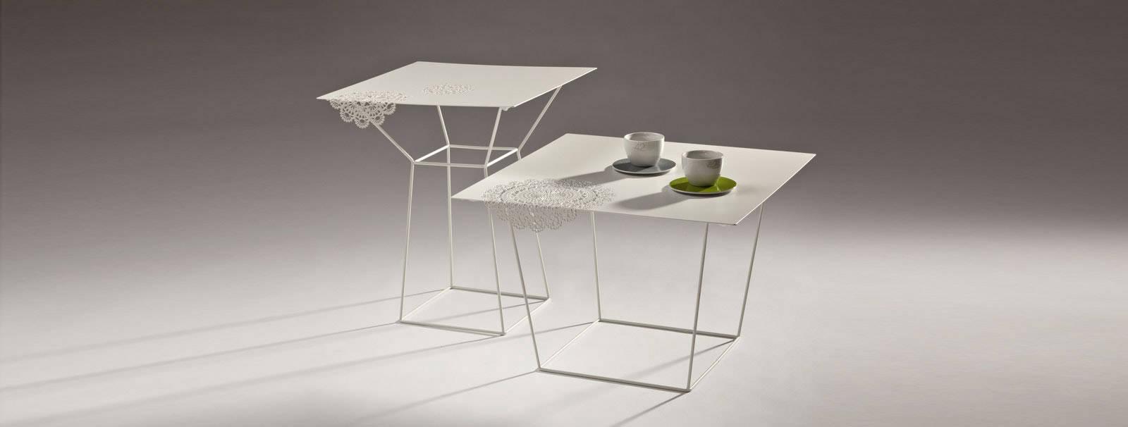 Side tables Merlot